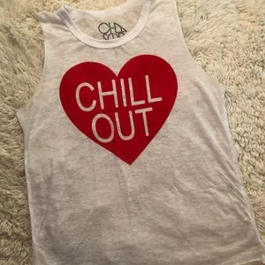 Chaser Chill Out Heart Tank